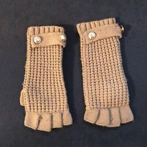 Michael Kors Fingerless Gloves